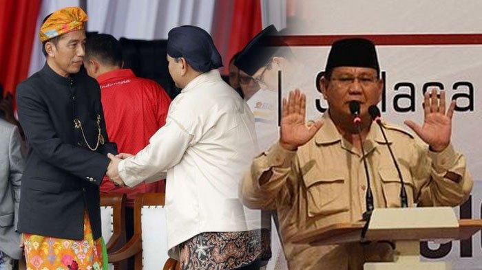 Hasil Pilpres 2019 KPU Jokowi-Maruf Menang 55,50% Suara, Prabowo-Sandi Gelar Rapat Tertutup