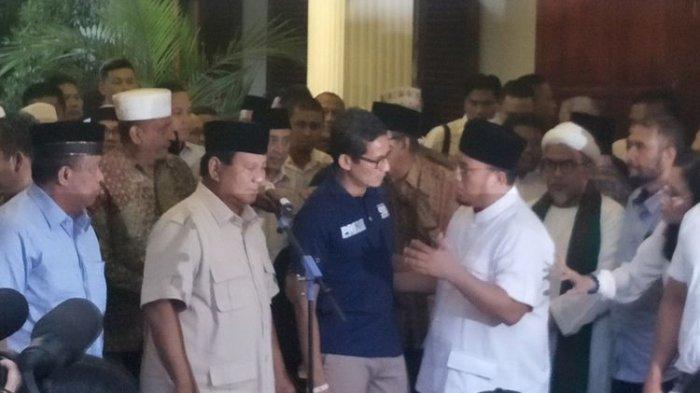 Video Prabowo & Sandiaga Tampil Bersama Deklarasi Klaim Menang Pilpres 2019