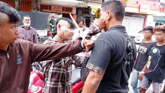 Kronologi Pengeroyokan di Jalan Mayjen Sungkono Tulungagung, Saling Pandang Jadi Pemicu