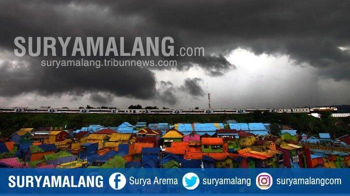 Ramalan Cuaca BMKG Juanda, Ini Kota yang Dilanda Hujan Deras Disertai Angin Selama 3 Hari Ke Depan
