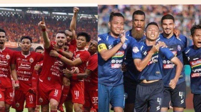 Prediksi Skor Arema FC vs Persija Jakarta Hari Ini Kick off Pukul 15.00 WIB, Ukur Kekuatan Kedua Tim