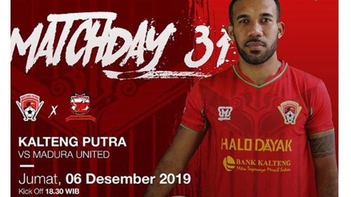 Prediksi Skor Kalteng Putra vs Madura United Liga 1 2019, Jumat 6 Desember 2019, Kick Off 18.30