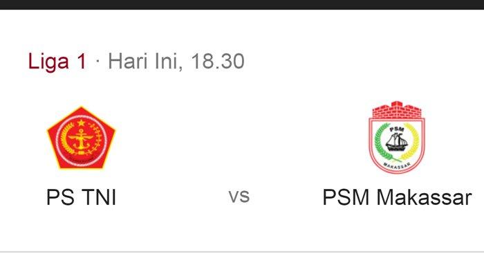 Link Live Streaming PS Tira vs PSM Makassar Liga 1, Rabu 19 September 2018 Kick Off 18.30 WIB