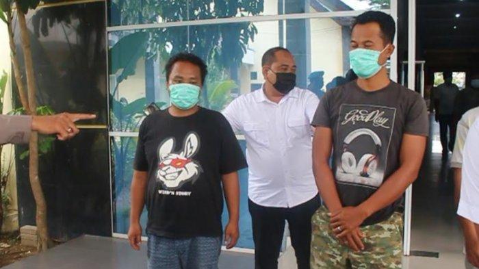 9 Preman Peras Sopir Truk di Kediri Ditangkap