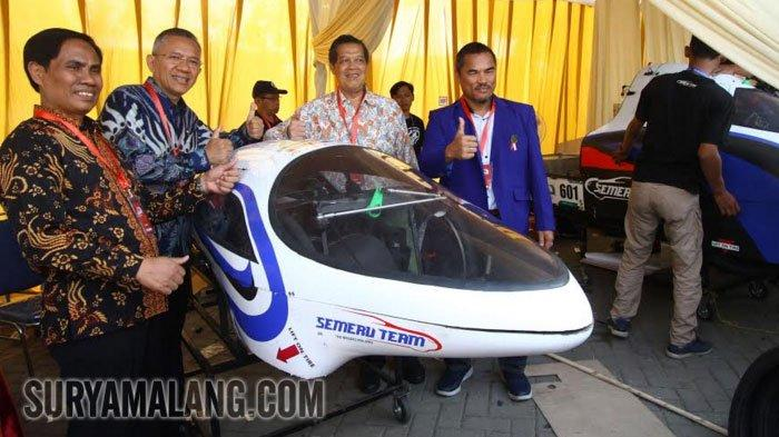 Presiden Direktur Shell Indonesia Memotivasi Peserta Kontes Mobil Hemat Energi (KMHE) di Malang