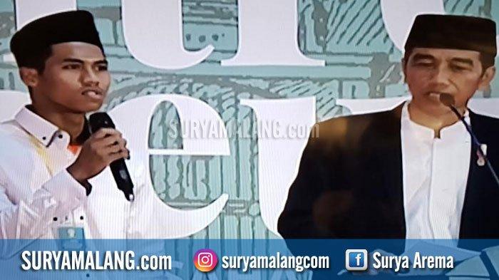 Jokowi Salut pada Wirausaha Santri di Pasuruan ini, Janji Kucurkan Modal