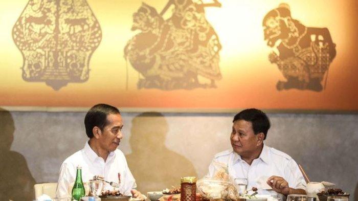 Presiden Jokowi dan Prabowo Subianto Gelar Pertemuan di Istana