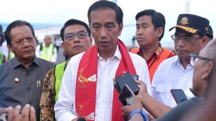Presiden Jokowi Tinjau Lokasi Terdampak Tsunami Di Banten Dan Lampung
