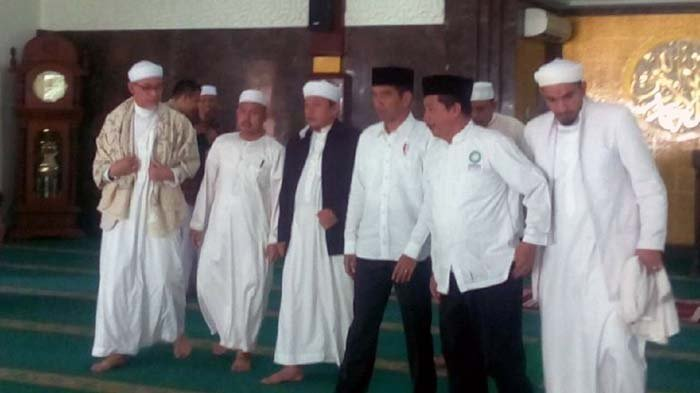 Presiden Jokowi Akui Gelar Pertemuan Dengan Ulama Alumni 212, Ternyata Ini Agendanya