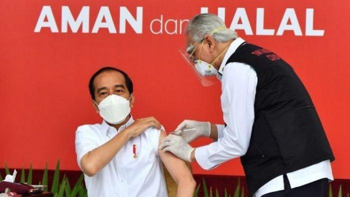 Jokowi Kembali Difitnah, Setelah Disebut Disuntik Vitamin dan Air Tajin, Kini Dituduh Divaksin Eropa
