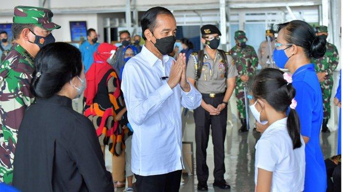 Presiden Jokowi Janji Bangunkan Rumah untuk Keluarga Awak Kapal Selam KRI Nanggala-402 Secepatnya