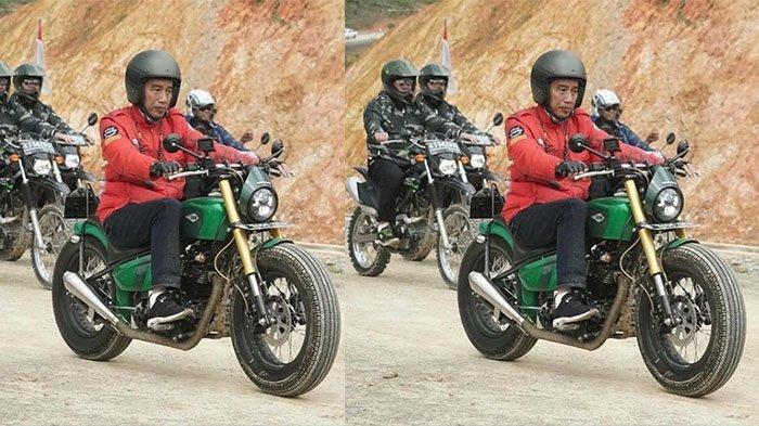 Inilah Jenis Kendaraan yang Dipakai Presiden Jokowi saat Trabas Perbatasan Indonesia-Malaysia