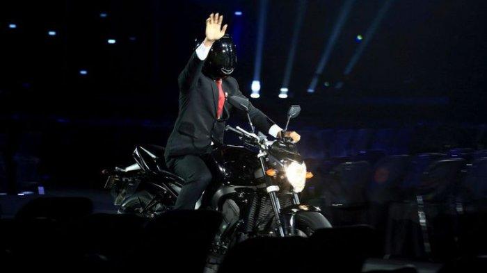 Tunggangi Motor saat Pembukaan Asian Games 2018, Jokowi Jadi Pembicaraan di Korea Selatan