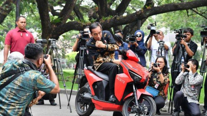 Mengenal Motor Listrik GESITS Buatan ITS Surabaya, Presiden Jokowi Sampai dibuat Bingung