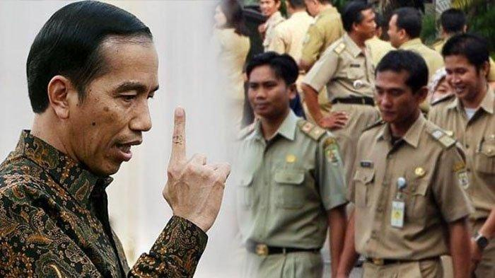 Presiden Jokowi Setujui Peraturan Gaji PNS Dipotong 2,5 Persen Per Bulan, Mulai Berlaku Januari 2021