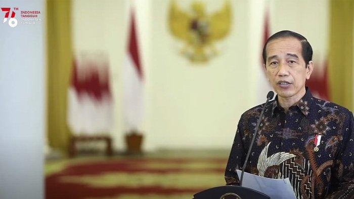 Presiden Jokowi umumkan PPKM Level 4 diperpanjang sampai 9 Agustus 2021