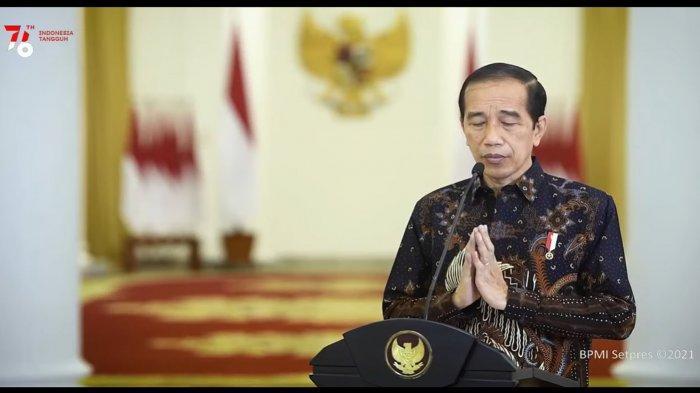 PPKM Level 4 Diperpanjang Hingga 9 Agustus 2021, Presiden Jokowi : Vaksinasi, 3 M dan 3 T yang Utama