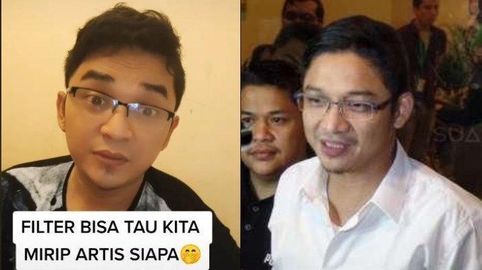 Pria bernama Vace 31 tahun (kiri) wajahnya mirip Pasha Ungu (kanan)