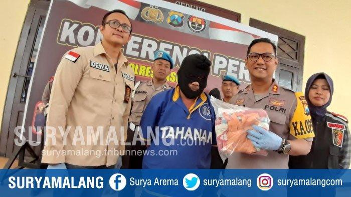 Diawali Cuci Piring & Nonton Film Syur, Pria Tua Praktek Hubungan Badan dengan Siswi SD di Pasuruan