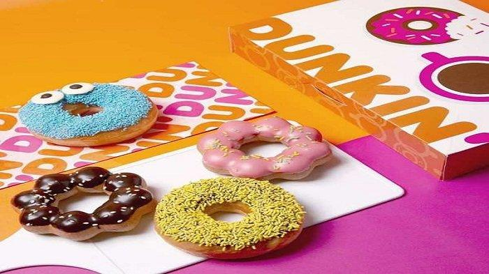 Promo Dunkin Donuts Hari Ini Selasa 27 April 2021, Rp 70 Ribu Dapat 6 Donuts Plus 2 Minuman