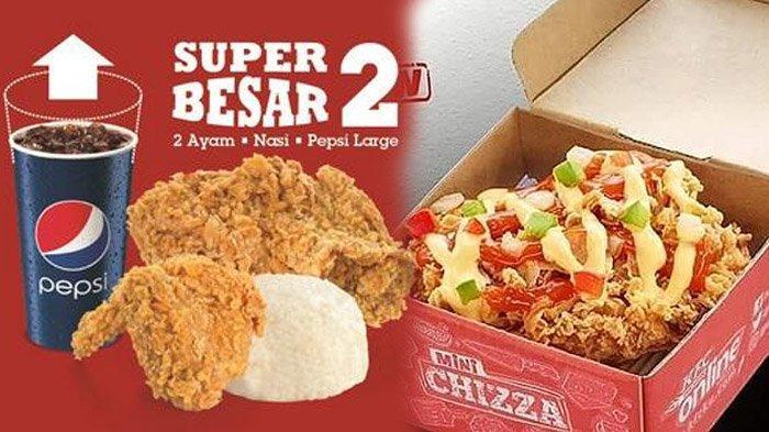 Promo KFC Serba Rp 5 Ribuan sampai Akhir Tahun 2019, Berlaku Seluruh Indonesia, Cek 6 Menu Diskonan