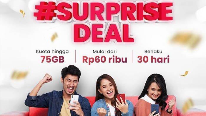 Promo Paket Internet Telkomsel Hingga 75GB Mulai Rp 60 Ribu, Cuma Hari Ini & Besok, Jangan Kelewatan