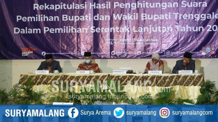 RESMI, Pasangan Mochamad Nur Arifin-Syah M Nata Negara Jadi Pemenang Pilbup Trenggalek