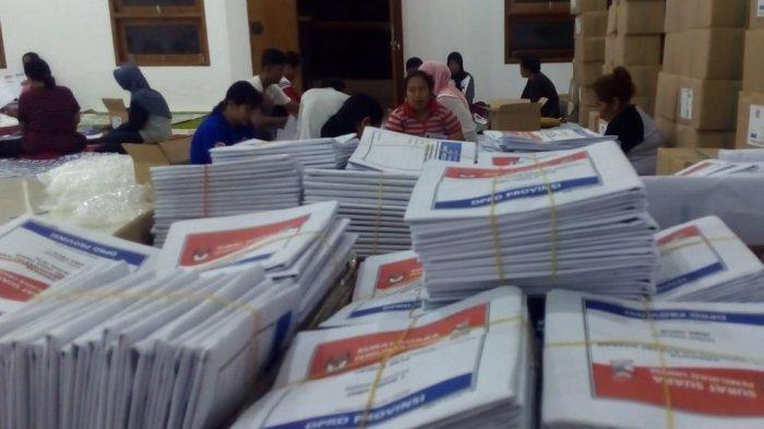 Dilelang Rp 60 Juta, Kertas Surat Suara Pemilu 2019 Milik KPU Kota Blitar Terjual Rp 80 Juta