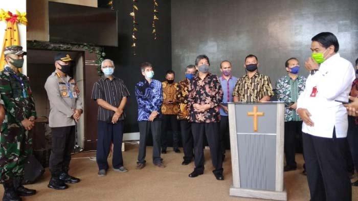 Satgas New Normal Kota Malang Bentuk Tim Verifikator Protokol Kesehatan Gereja, Ini Tugasnya