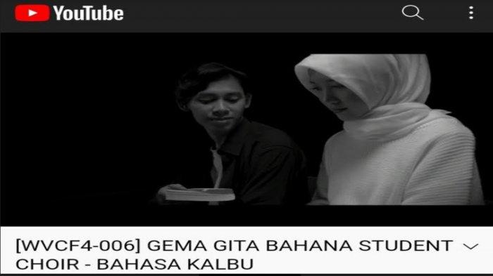 Bawakan Lagu 'Bahasa Kalbu' Titi DJ, Paduan Suara UIN Malang Raih Prestasi