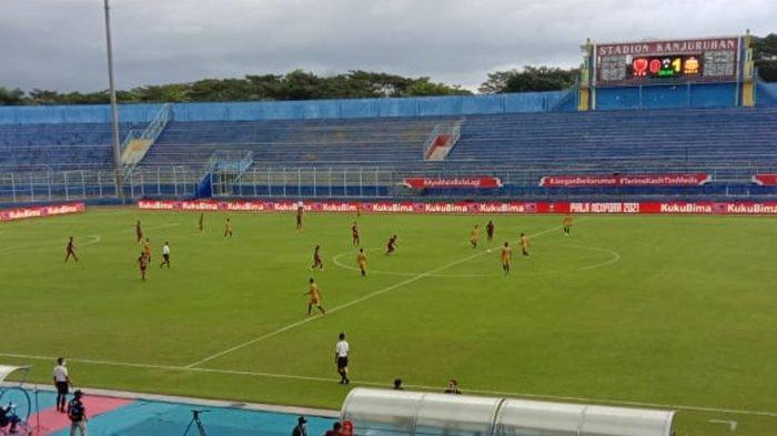 Evaluasi Babak Pertama, PSM Makassar Sempat Tertinggal 0-1 Dari Bhanyakara Solo FC