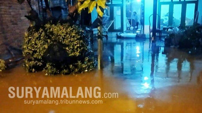 Air Sungai Sadar Meluap, Puluhan Rumah dan 10 Hektare Lahan Persawahan Terendam Banjir