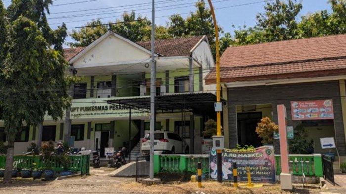 Suasana di Unit Pelaksana Teknis (UPT) Puskesmas Pesanggrahan, Kecamatan Kutorejo, Kabupaten Mojokerto.