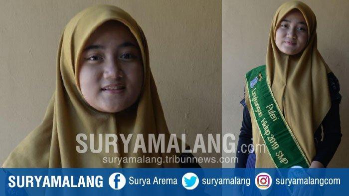 Putri Lingkungan Hidup 2019 Tingkat SMP Surabaya, Erina Maula Hassya Ingin Menjaga Alam