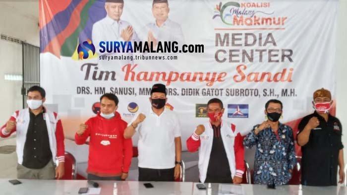 Rekapitulasi secara internal telah diselesaikan oleh DPC PDIP Kabupaten Malang bersama Tim Pemenangan Sanusi-Didik (Sandi) pada Senin (14/12/2020).