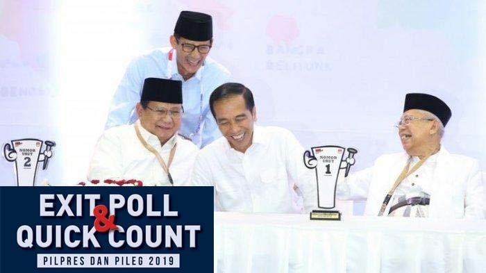 3 Lembaga Survei Umumkan Waktu Pengumuman Hasil Quick Count (hitung cepat) Pemilu & Pilpres 2019