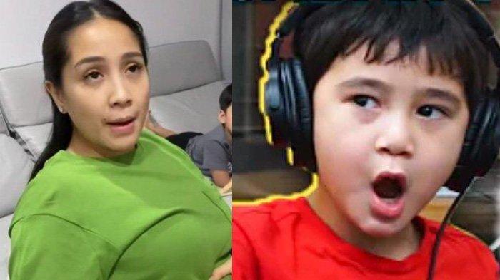 Rafathar Nyinyir saat Nagita Slavina Coba Barang-barang Murah, Istri Raffi Ahmad Syok Disebut Jelek