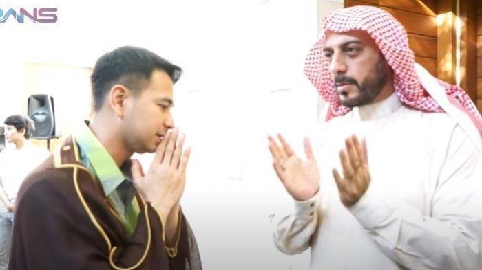 Raffi Ahmad dan Syekh Ali Jaber.