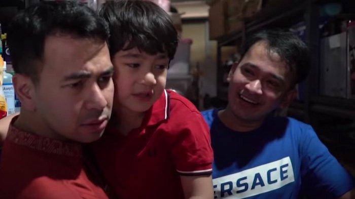 Keliling Rumah Ruben Onsu, Raffi Ahmad Melongo Kebingungan Buka Pintu: Oh Ini Kamar Mandi?