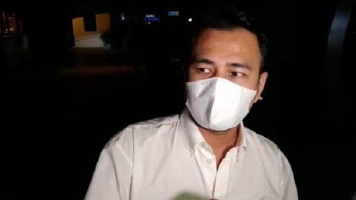 Raffi Ahmad saat ditemui di kawasan SCBD, Jakarta Selatan, Senin 31 Mei 2021