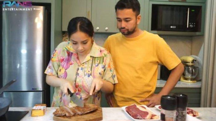 Nagita Slavina Gagal Masak Daging Rp 1,6 Juta, Raffi Ahmad Langsung Bereaksi Omeli Sang Istri