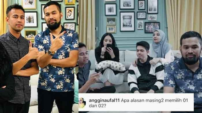 Curhat Raffi Ahmad & Teuku Wisnu Soal Jokowi vs Prabowo Buat Zaskia Sungkar Dilema
