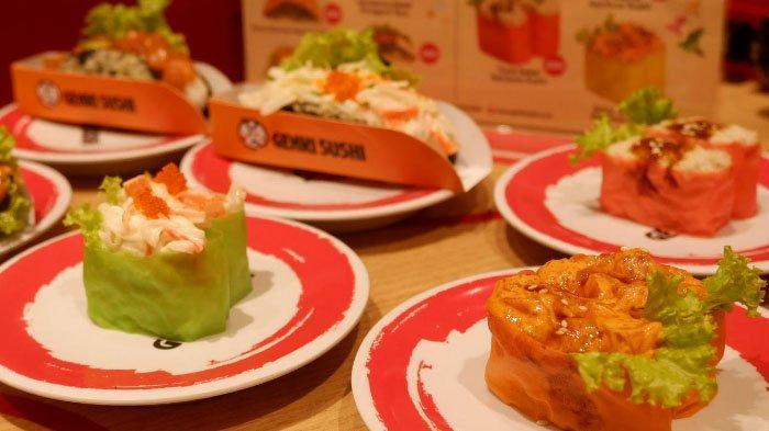 Menu Baru di Genki Sushi Surabaya: Rainbow Sushi dan Norigami Taco Sushi