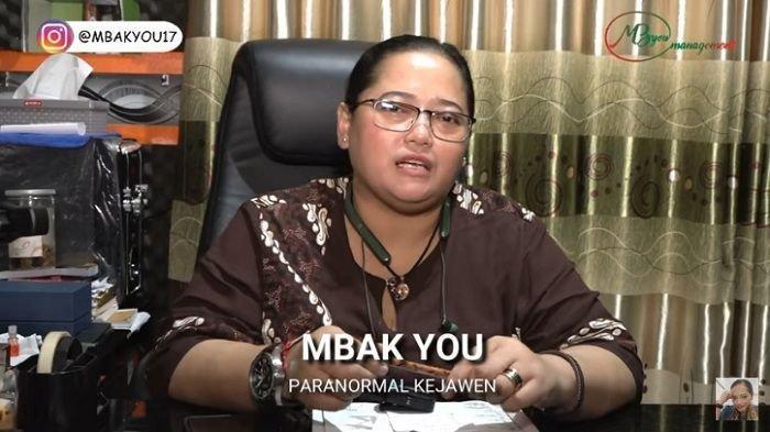 Ramalan Mbak You soal nasib Arya Saloka (YouTube Mbak You)