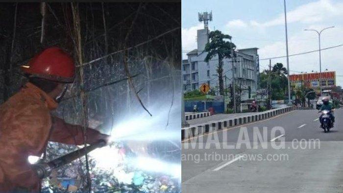 Berita Malang Hari Ini Minggu 23 Agustus Populer: Rekayasa Lalu Lintas & Kebakaran di TPS Mergan