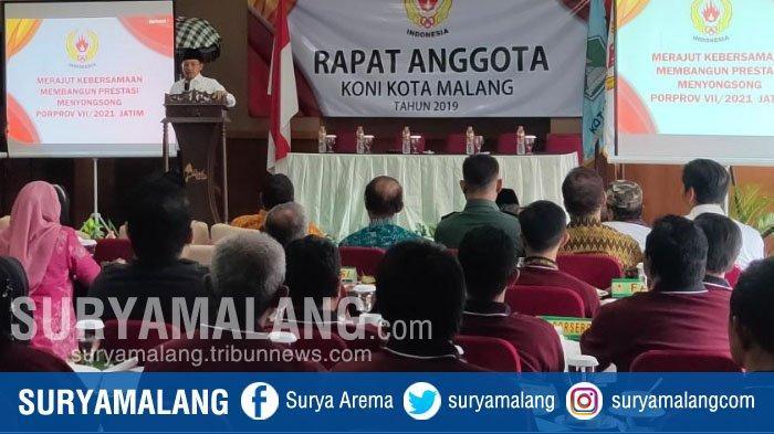 KONI Kota Malang Target Raih Runner Up di Porprov Jatim 2021