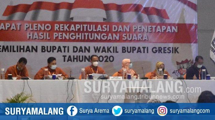 Pasangan Fandi Akhmad Yani–Aminatun Habibah (Niat) Menang Pilbup Gresik 2020