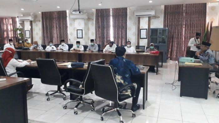 Rapat Senat Tertutup Mulai Bahas Pilrek UIN Maliki Malang Periode 2021-2025