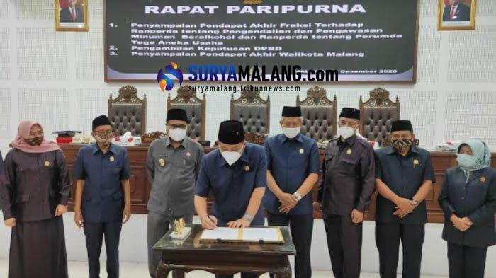 Catatan Sejumlah Fraksi DPRD Kota Malang Seusai Raperda Minuman Beralkohol dan Tunas Disahkan