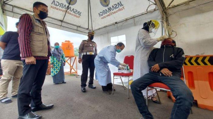 Dinkes Kota Malang Siapkan 1,600 Rapid Test Antigen di Pos Exit Tol Madyopuro, Ini Tujuannya